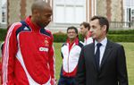 Thierry henry appel sarkozy