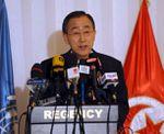 Ban Ki-moon en Côte d`Ivoire pour l`investiture de Ouattara