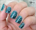 Nail art # 21 - Jade jungle