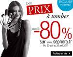 Bon plan beauté Sephora : jusqu'à -80% !