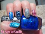You Rock Speed light blue d'Essence + swatches des nouveaux shatter d'OPI
