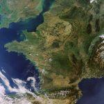 Conditions anticycloniques en France : un beau début d'automne vu par le satellite européen Envisat mais un mois de septembre 2011 très sec