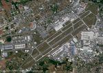A Colomiers, l'usine d'assemblage de l'Airbus A350 vue par le satellite Pléiades