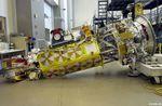 Septembre 2003 - tentative de mise en orbite sans fusée : chute du satellite NOAA-N Prime en salle d'intégration