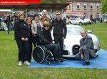Le reve de Samuel, atteint de Leucodystrophie, de monter dans la Bugatti Veyron