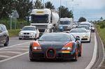 4 Bugatti Grand Sport à Molsheim