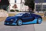 Photos officielles des Bugatti Grand Sport Vitesse bleue et grise