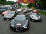 Participation d'une Veyron au Germania Rallye 2010