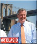 Bill De Blasio, 109th Mayor of NYC
