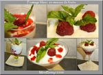 Fromage blanc en mousse de fruits