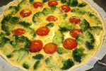 Tarte brocolis tomates