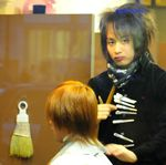 Need a hair cut ? Japan 2 by albi