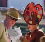horse and hat race at longchamp (part one) by albi