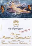 « Jeff Koons illustre l'étiquette 2010 de Mouton Rothschild »