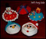 Essai cupcakes pour Noël
