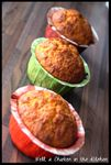 Carrot cake version muffins