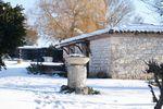 Le foyer sous la neige !