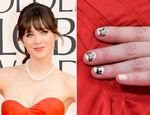 NailNews: Ongles Zooey Deschanel