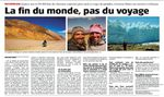 "Published in SWITZERLAND - ""La fin du monde, pas du voyage"""