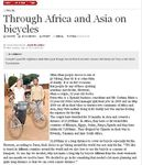 Published in UGANDA - Through Africa and Asia on bicycles