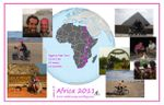 AFRICA: 16,573 kms - 16 countries - 10 moons