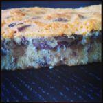 Brownie blanc-pécan