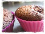 Muffins au chocolat et aux cerises