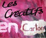 Les Créatifs en Carton au marché nocturne de Gélannes