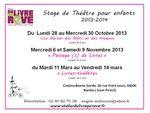 stages de théâtre à Nantes