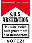 Législatives 2012 : SOS Abstention