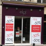 Eliot Bijoux 33 Rue au Pain 78100 Saint-Germain-en-Laye liquidation total -30% -50%