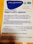 Saint-Ouen. Prière de ne pas jeter de la nourriture aux ... SDF.