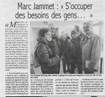 """Le Courrier de Mantes. Marc Jammet: """"S'occuper des besoins des gens ..."""""""