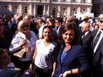 Insieme nello Sport. Il Presidente della Camera, Laura Boldrini, a Catania saluta il tour di Giusy Versace