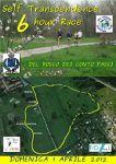 Self Transcendence 6 hours Race (3^ ed.). Vincitore gli azzurri Mario Pirotta (ASD Runners Bergamo) e Maria Ilaria Fossati (Road Runners Club Milano)