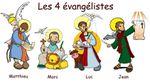 Vies & coloriages des 4 Evangélistes