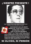 OMENALDI-HOMMAGE À PEDRO TABANERA PÉREZ, OUVRIER ANTIFASCISTE DES GRAPO