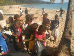 Nettoyage de la plage d'Andilana