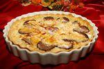 Tarte à l'andouille de Vire aux pommes et au camembert