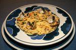 Spaghettis aux coques ou alle vongale