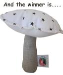 Le doudou champignon a trouvé une maison ...