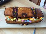 Gâteau coffre fort