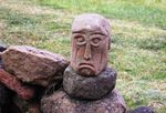 Les têtes de la poterie du Hérisson