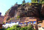 Les maisons des rochers de Graufthal