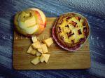 Tarte rustique ... aux pommes ...