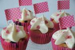 Cupcakes fruits rouges et cream cheese