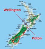 carte picton wellington