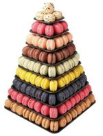 presentoir macarons pyramide