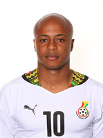 André Ayew Ghana WC 2014