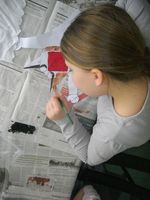 Atelier Parent Enfant Pop up Mars 2010